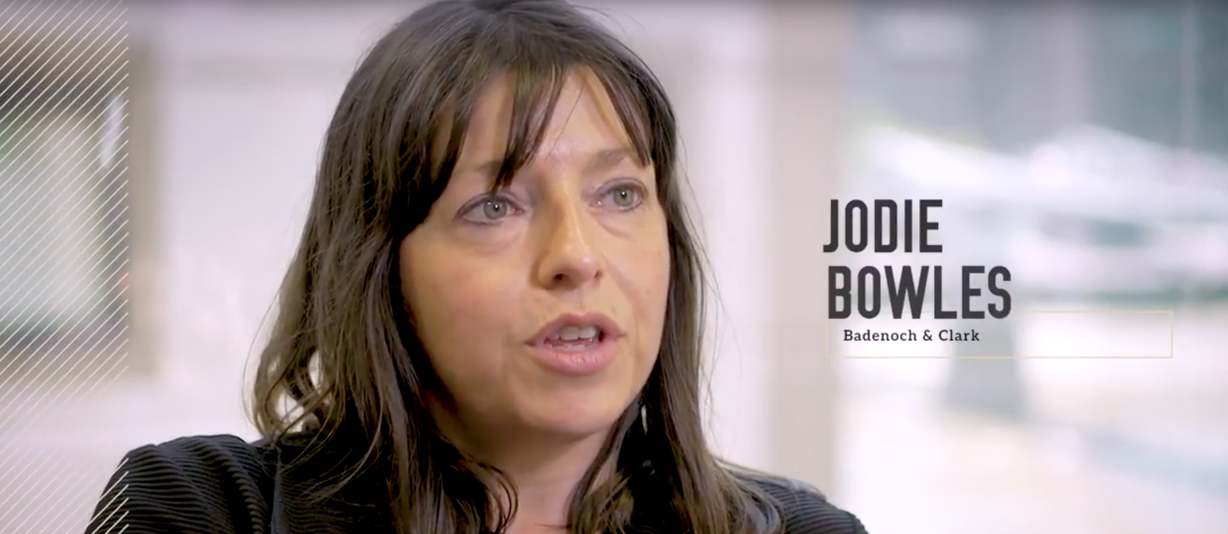 Jodie Bowles from Badenoch and Clark talking about her experience with Enhance the UK