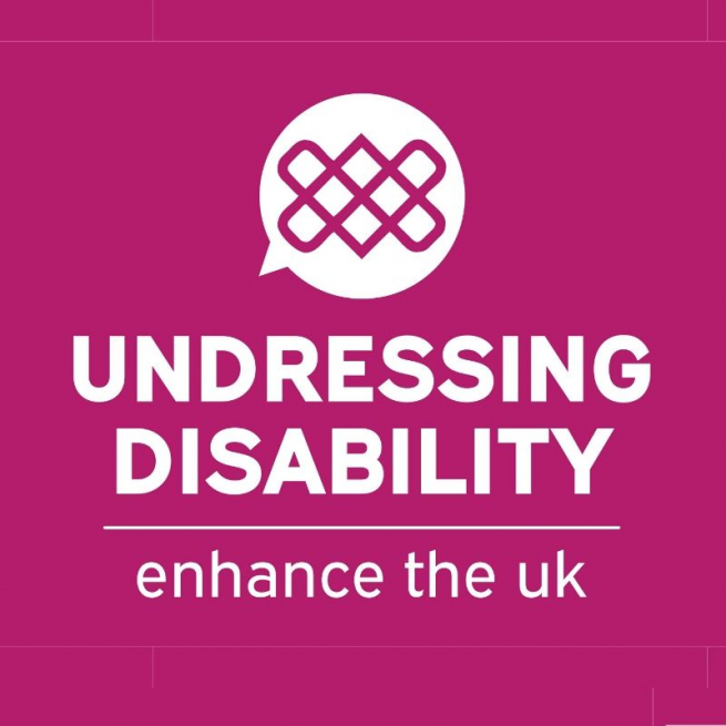 Undressing Disability Logo